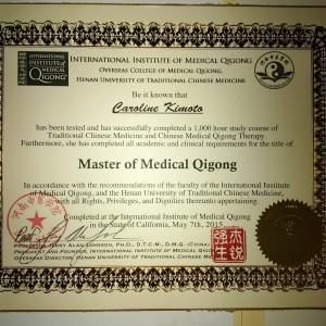 MMQ Certificate